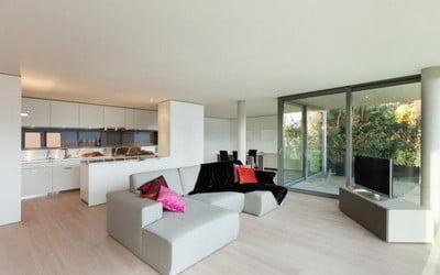 parchet laminat livingroom